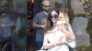 Maluma Treats Gorgeous Girlfriend Natalia Barulich To A Romantic Dinner