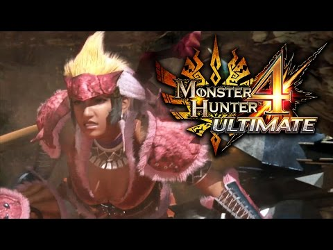 Monster Hunter 4 Ultimate - Launch Trailer thumbnail