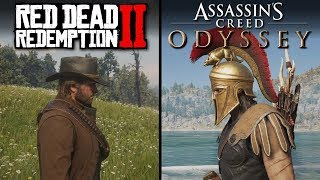 Red Dead Redemption 2 vs Assassin
