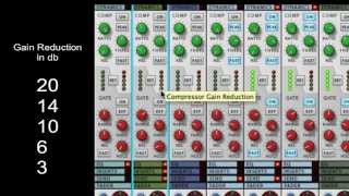 How A Compressor And Limiter Work - SSL Mixer Video Series - Reason - LearnReason.com
