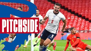 Relive All the Action From England's 3-0 Win Against Wales | Pitchside | England