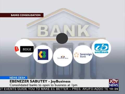 Staff Of Royal Bank Report Work - News Desk on JoyNews (2-8-18)