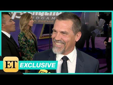 Avengers: Endgame Premiere: Josh Brolin FULL INTERVIEW (Exclusive)