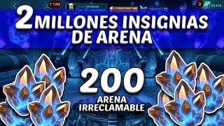 Abriendo 200 Cristales de Arena del Irreclamable - Marvel Contest Of Champions