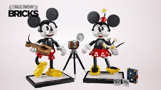 Lego Disney 43179 Mickey Mouse and Minnie Mouse Speed Build for 18+