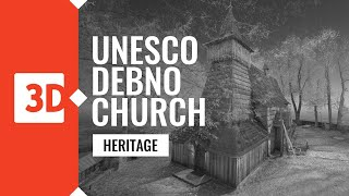 Dębno – St. Michael Archangel's Church – Laser scanning of UNESCO monuments