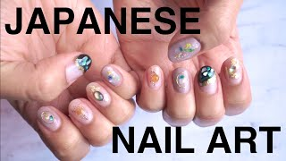 Giving Myself A Japanese Gel Manicure *satisfying*
