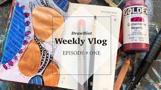 DrawRiot Vlog Episode #1