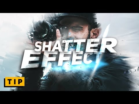 SHATTER EFFECT in PHOTOSHOP - in 60 seconds!