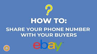 How to Share your Phone Number with Your Buyers on eBay - E-commerce Tutorials