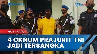Pelaku Pembunuhan Pimpinan Redaksi Media Online di Sumut Terungkap, Ternyata 4 Oknum Prajurit TNI