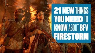 21 Things You Need To Know About Battlefield V Firestorm gameplay - BF5 FIRESTORM GAMEPLAY AND TIPS!