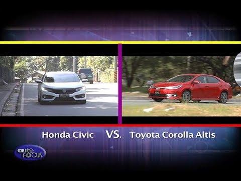 All New Corolla Altis Vs Civic Jual Toyota Head To Honda Auto Focus