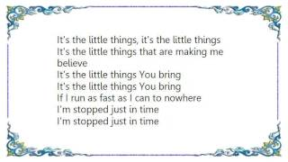 Charity - The Little Things Lyrics