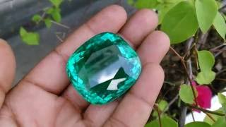 World's Largest 214ct GIA Certified Paraiba Tourmaline