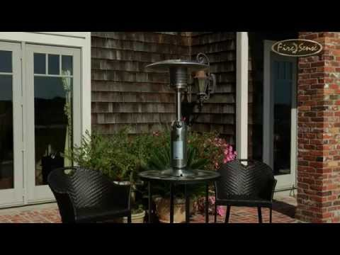 Fire Sense Propane Tabletop Portable Patio Heater