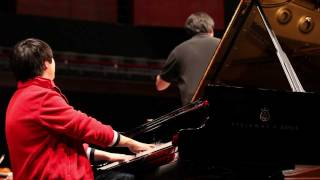 Lang Lang Rehearses Tchaikovsky in Luxembourg, 02/04/12
