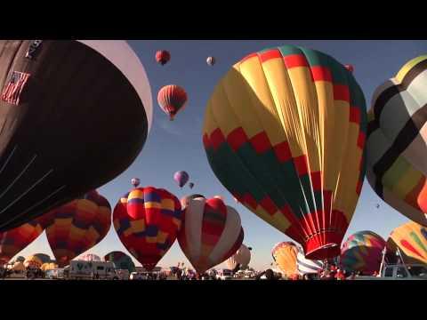 世界最大熱氣球節 阿布奎基國際熱氣球節Albuquerque International Balloon Fiesta
