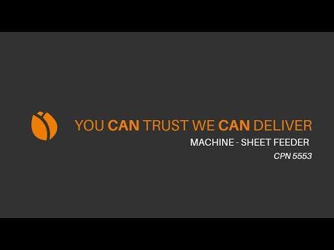 Video - Mailander 122 tandem printing line with LTG tunnel-oven