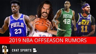 NBA Rumors: Al Horford Free Agency, Mike Conley Trade, Thunder Rumors & D'Angelo Russell Leaving?