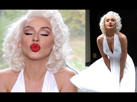 MARILYN MONROE HALLOWEEN TRANSFORMATION | Carli Bybel