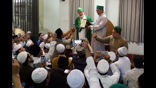 """Syarah Wa Ijazah """"Sholawat Basyairal Khairaat"""" Oleh Syekh Prof. Dr. Muhammad Fadhil Jilani Al Hasani"""
