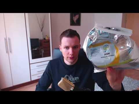 MSM Methylsulfonylmethan / Einnahme und Wirkung / Meine Erfahrungen / Schwefel Pulver