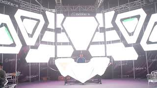 DJ booth LED demo