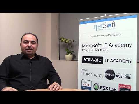 NetSoft College Testimonial Ahmad Z. Sharifi