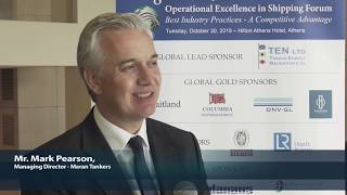 2018 8th Annual Operational Excellence in Shipping - Mark Pearson Interview