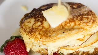 keto pancakes made with coconut flour