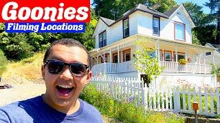 The Goonies (1985) Filming Locations Then & Now - Astoria, Oregon!