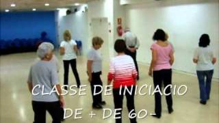 CUMBIA SEMANA ,CLASSE DE COUNTRY LINE DANCE +DE 60-.