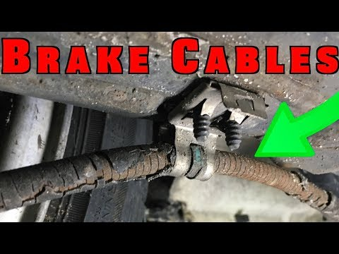 How To Replace And Adjust Parking Brake Cables Mp3