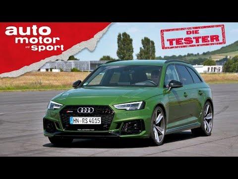 Audi RS4 Avant: Des Quattros fette Beute - Test/Review | auto motor & sport