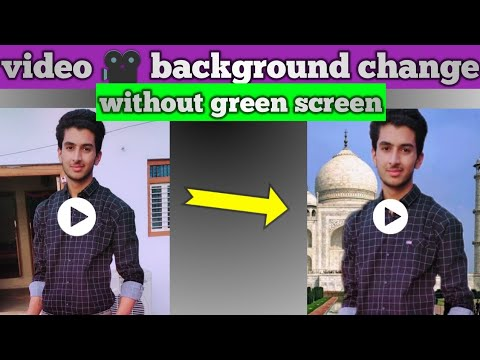 Change Video Background Without Green Screen 🔥🔥