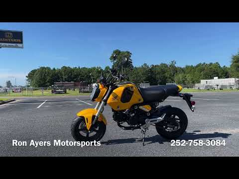 2022 Honda Grom in Greenville, North Carolina - Video 1