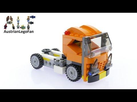 Vidéo LEGO Creator 31017 : La décapotable orange