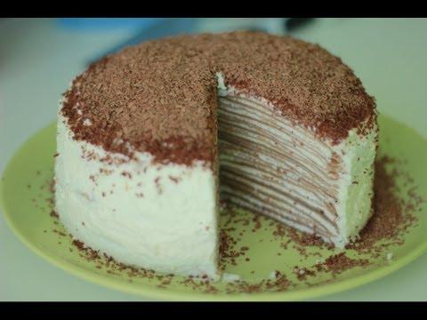 , title : 'Рецепт блинного торта. Блинный торт с кремом.'