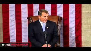 John Boehner Sworn in as Speaker of the U.S. House of Representatives