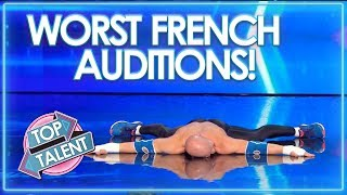 The WORST Of France's Got Talent 2018! | Top Talent