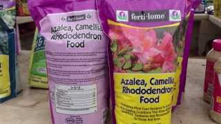 Azalea, Camellia and Rhododendron Fertilizer by Fertilome - Quick Video Instructions by Chad Harris
