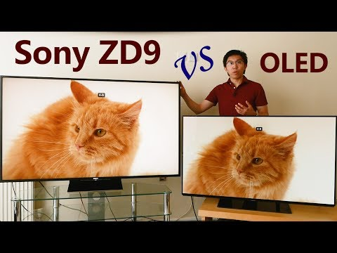 Sony ZD9 (Z9D) Review vs 2017 OLED TV
