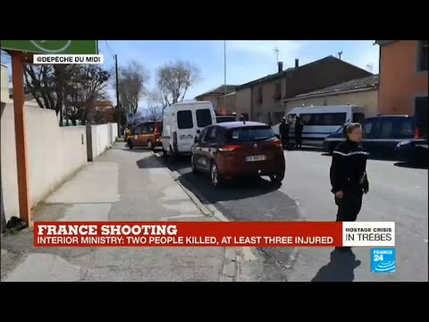France shooting: Police says one person was shot in the head and killed in Carcassonne