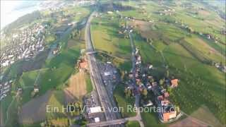 preview picture of video 'Autobahn A3 bei Horgen'