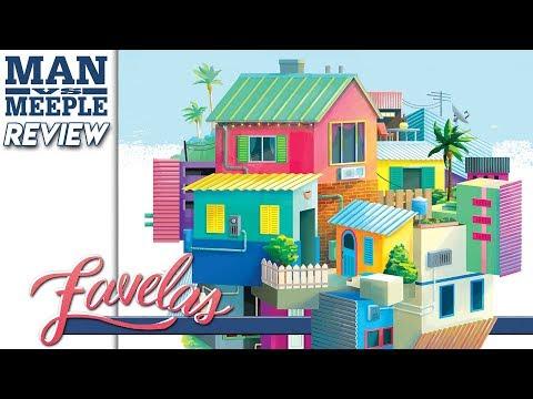 Favelas (Wizkids) Review by Man Vs Meeple
