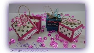 Super Cute Sturdy Mini Tooth Fairy Box - Tutorial -