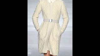 Связать Пальто Спицами для Женщин - 2017 / Assign spokes Coats for Women /Weisen Sie Speichen Mäntel