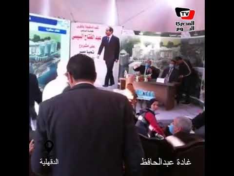 «برافو كده هتوصل».. خناقة بين نائبين بالمنصورة بحضور وزير النقل