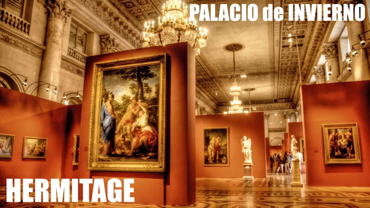 Video Tour San Petersburgo. Palacio de Invierno / Hermitage 4 min.